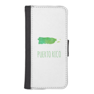 Puerto Rico iPhone SE/5/5s Wallet Case