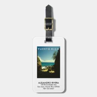 Puerto Rico, Isabela Bag Tag