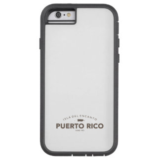 Puerto Rico Isla del Encanto Tough Xtreme iPhone 6 Case