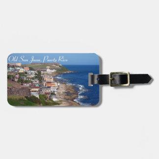 Puerto Rico Luggage Tag