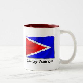 Puerto Rico Mug: Cabo Rojo Two-Tone Coffee Mug
