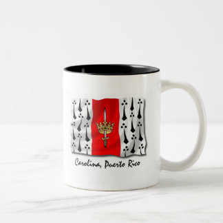 Puerto Rico Mug: Carolina Two-Tone Coffee Mug