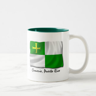 Puerto Rico Mug: Comerio Two-Tone Coffee Mug