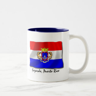 Puerto Rico Mug: Fajardo Two-Tone Coffee Mug
