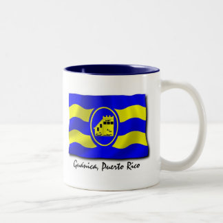 Puerto Rico Mug: Guanica Two-Tone Coffee Mug