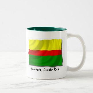 Puerto Rico Mug: Humacao Two-Tone Coffee Mug