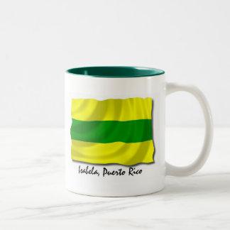 Puerto Rico Mug: Isabela Two-Tone Coffee Mug