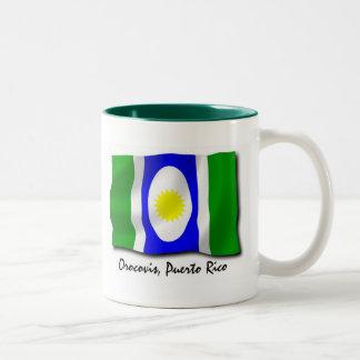 Puerto Rico Mug: Orocovis Two-Tone Coffee Mug