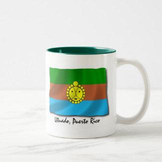 Puerto Rico Mug: Utuado Two-Tone Coffee Mug