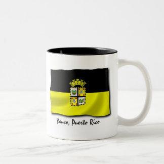 Puerto Rico Mug: Yauco Two-Tone Coffee Mug