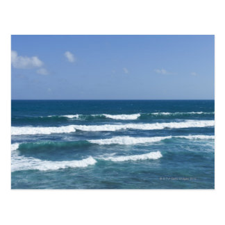 Puerto Rico, Old San Juan, seascape Postcard