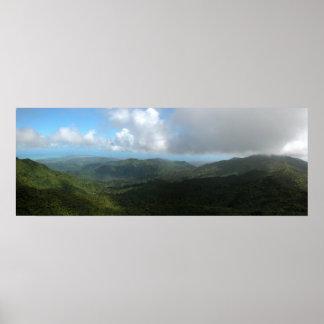 Puerto Rico Panoramic 9 Poster