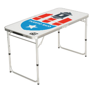PUERTO RICO | PING PONG BEER PONG TABLE