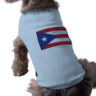 Puerto Rico Plain Flag Pet Clothing