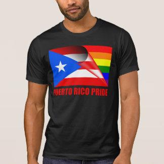 Puerto Rico Pride LGBT Rainbow Flag T-Shirt