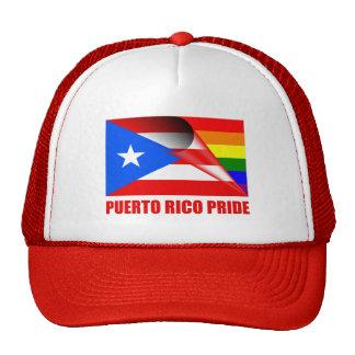 Puerto Rico Pride LGBT Rainbow Flag Trucker Hat