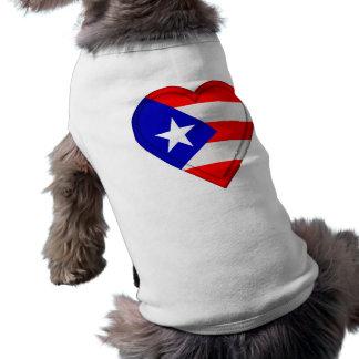 Puerto Rico Puerto Rican flag Pet Shirt