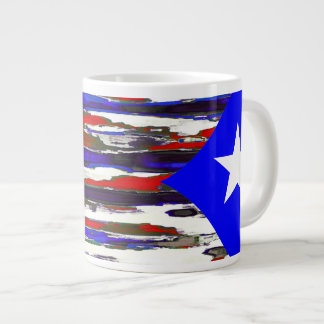 Puerto Rico / Puertorican Flag ~ 20oz Jumbo Mug
