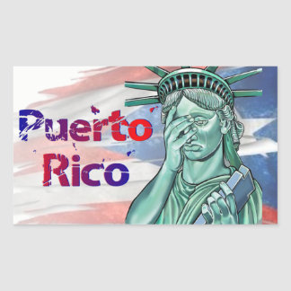 Puerto Rico Relief. Shame on You Trump! Sticker