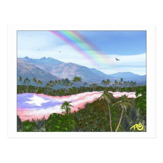 Puerto Rico River Postcard