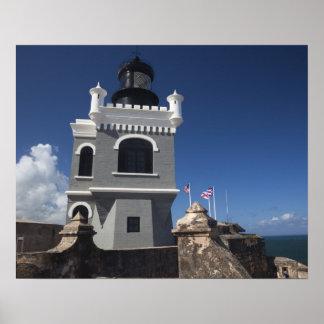 Puerto Rico, San Juan, Old San Juan, El Morro Poster