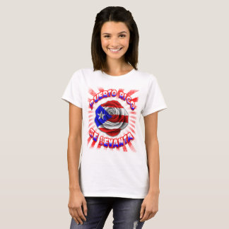 Puerto Rico Se Levanta ROSE RED T T-Shirt