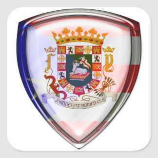 Puerto Rico - Seal on Shield