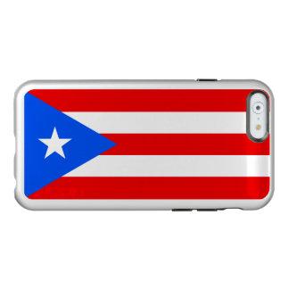 Puerto Rico Silver iPhone Case Incipio Feather® Shine iPhone 6 Case