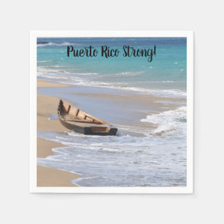 """""""Puerto RIco Strong"""" cocktail napkins"""