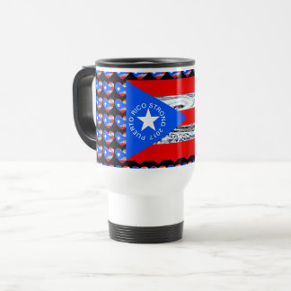PUERTO RICO Strong Hurricane Flag Coffee Mug
