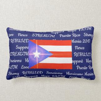 Puerto Rico Strong Hurricane Maria 2017 Pillow