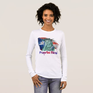 Puerto Rico Support Long Sleeve T-Shirt