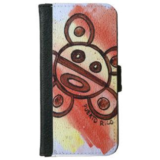 Puerto Rico Taino Sun iPhone 6/6s Wallet Case