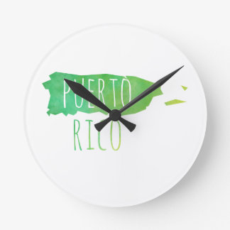Puerto Rico Wallclock