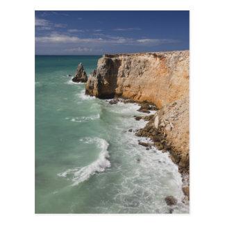Puerto Rico, West Coast, Cabo Rojo, coastline Postcard