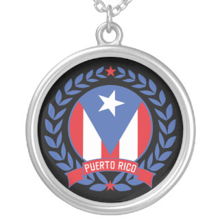 Puerto Rico Wreath Necklace