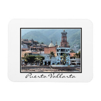 Puerto Vallarta downtown Magnet