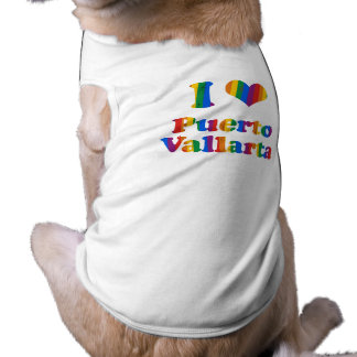 PUERTO VALLARTA GAY PRIDE DOG TSHIRT