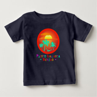 Puerto Vallarta, Mexico Circle Beach Sunset Baby T-Shirt