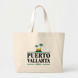 Puerto Vallarta Mexico Large Tote Bag