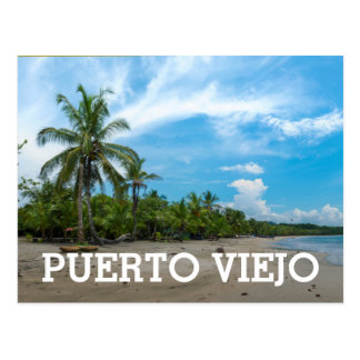 Puerto Viejo Beach Postcard