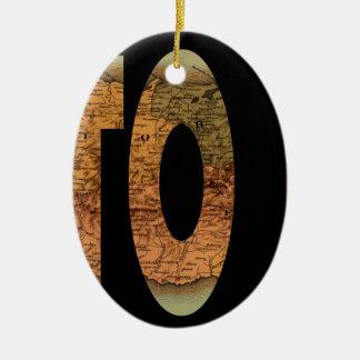 puertorico1886 ceramic ornament