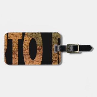 puertorico1886 luggage tag