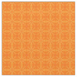 Puffed Pillows-Orange-Zazzle Fabric