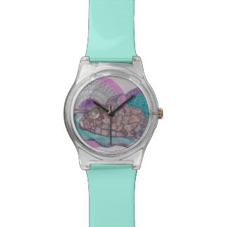 Puffer fish wristwatches