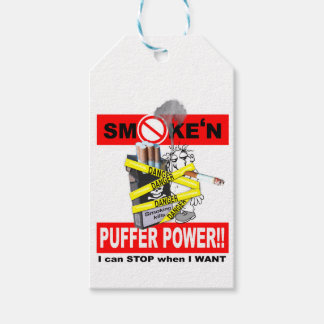PUFFER POWER_1 GIFT TAGS