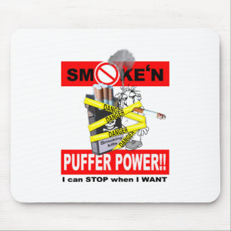 PUFFER POWER_1 MOUSE PAD
