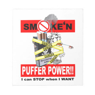 PUFFER POWER_1 NOTEPAD