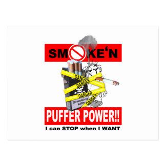 PUFFER POWER_1 POSTCARD