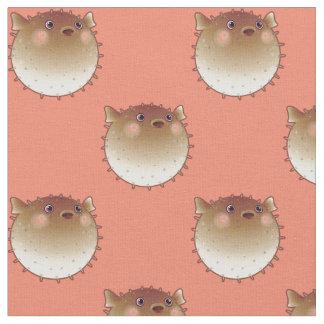 Pufferfish Ocean Theme Fabric